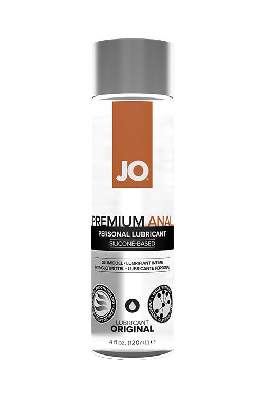 Анальный лубрикант на силиконовой основе / JO Anal Premium 4oz - 120 мл.