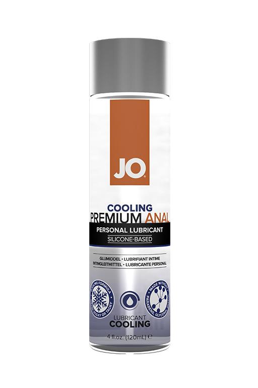 Анальный охлаждающий лубрикант на силиконовой основе / JO Anal Premium COOL 4 oz - 120 мл.