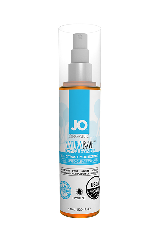 Чистящее средство для игрушек / JO Organic Toy Cleaner Fragrance Free 4oz - 120 мл.
