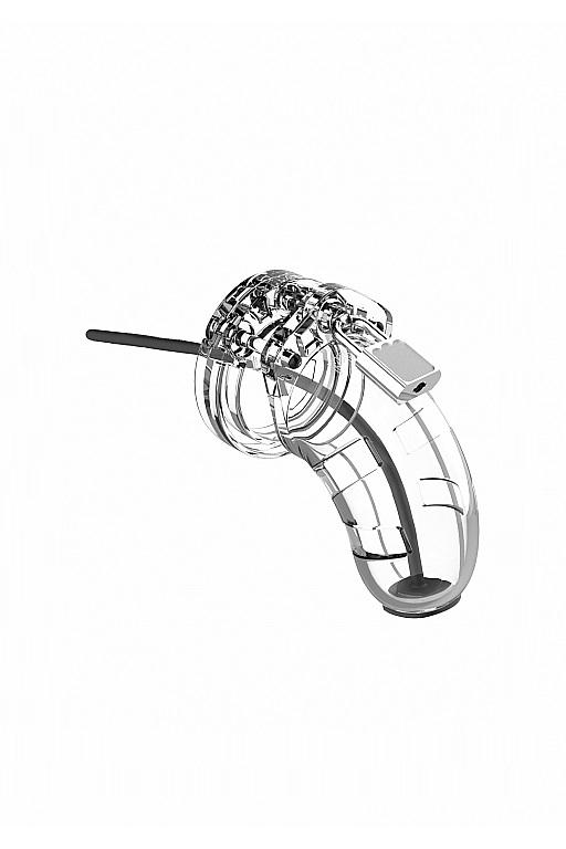 Мужской пояс верности со стимулятором уретры Cock Cage Model 15 Chastity 3.5