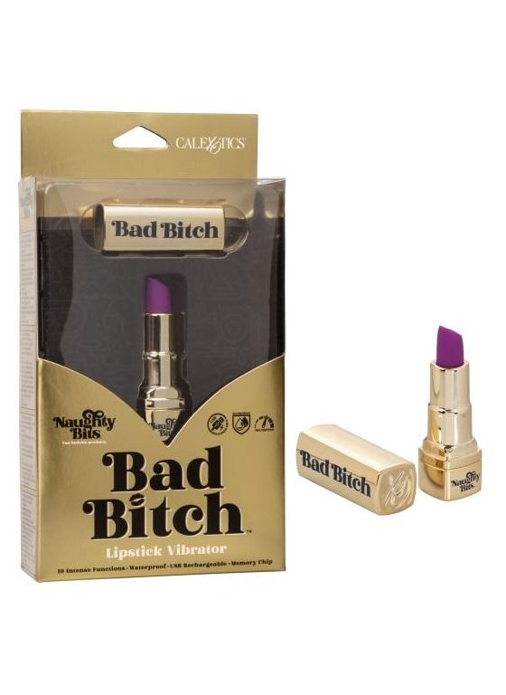 Мини-вибромассажер Naughty Bits Bad Bitch Lipstick